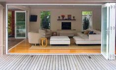 Timber Floor Design Ideas - Photos of Timber Floors. Browse Photos from Australian Designers & Trade Professionals, Create an Inspiration Board to save your favourite images. House Design, New Homes, House Plans, Timber House, Home, Timber Flooring, Lounge Room Design, Living Room Designs, Floor Design