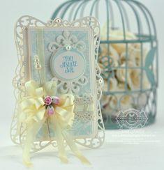 Spellbinders Timeless Rectangles - JustRite Antique Damask Bkgrnd - www.amazingpapergrace.com