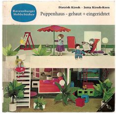 puppenhaus on pinterest dollhouses doll houses and interior styling. Black Bedroom Furniture Sets. Home Design Ideas