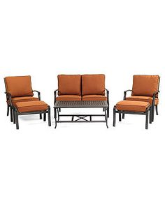 Outdoor Seating at Macy's - Patio Seating, Deep Seating Patio Furniture - Macy's