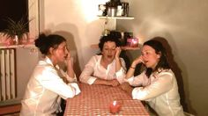 """This is pretty sweet, listen to the soothing voices and sounds of the ladies of """"carte sur table"""" and a dining table. Once all of their voices collide after a while it's pure joy to listen! The French trio exists out of Annabelle Galland , Diane Bucciali and Claire-Amélie Pancher. To follow them on facebook : https://www.facebook.com/"""
