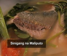 MALIPUTO (Taal Lake, Philippines) - Best tasting fish I've ever tasted. Filipino Food, Filipino Recipes, Sinigang, Pinoy, Philippines, Steak, Favorite Recipes, Fish, Holidays