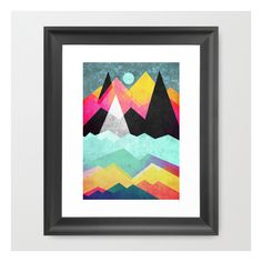 Candyland Framed Art Print (£28) ❤ liked on Polyvore featuring home, home decor, wall art, framed art prints, abstract home decor, framed abstract wall art, framed wall art, abstract wall art and black framed wall art