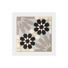 Agdal Andalosia Grey Handmade Cement and Granite Moroccan Tile 8 x 8 Floor and Wall Tile (Pack of 12) (Morocco)