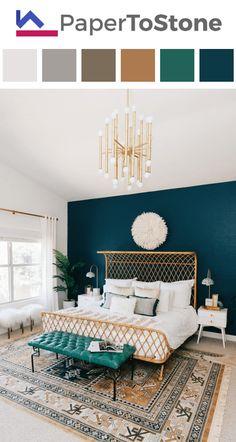 Bedroom color palette - amber dark-amber dark-gamboge dark-tangelo light-grayish-tangelo