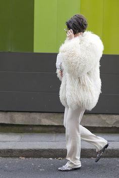 Street style: White & White