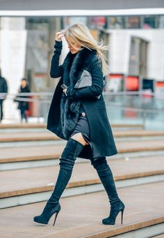 February 6, 2014  Tags Ostrich, Fur, Kate Davidson Hudson, Boots, Women, Coats, Dresses, Clutches, New York, FW14 Women's, Suede