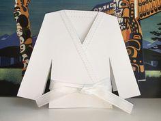 Dobok Card - jiujitsu, karate, taekwondo, judo, martial arts uniform