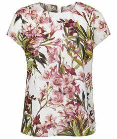 Dolce & Gabbana - Damen Blusenshirt #dolcegabbana #flowers #fashion