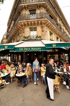 Les Deux Magots by Dan & Luiza from TravelPlusStyle.com, via Flickr