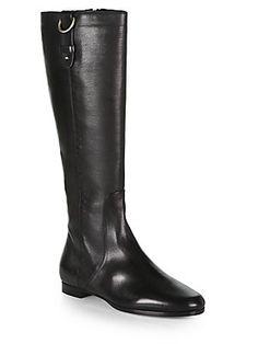 Jimmy Choo Marla Leather Knee-High Boots