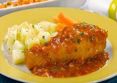 Esta es la Receta Chilena de Pollo al Jugo, un plato muy preparado, en su variante mas exquisita.