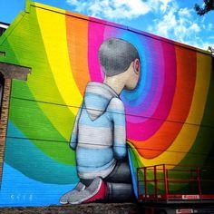 Seth, New Mural, Montreal, Canada
