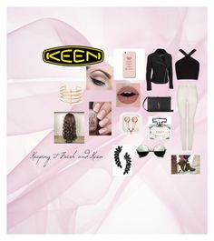 """""""So Fresh and So Keen: Contest Entry"""" by himeshi ❤ liked on Polyvore featuring BCBGMAXAZRIA, Yves Saint Laurent, Revo, claire's, BauXo, Gucci, Mehron, Cristabelle, keen and plus size clothing"""