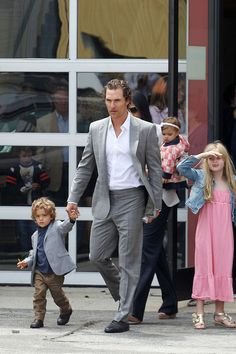 """Matthew McConaughey has said: """"I'm a proud, patriotic American."""" He also lives part-time in a trailer, is a part-time naked bongo player, and isn't afraid to unleash his inner party animal. So in other words, he brings the """"Party"""" to the """"Republican Party""""."""