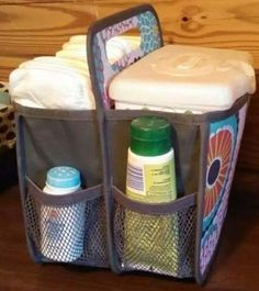 Double Duty Caddy for all baby's needs.