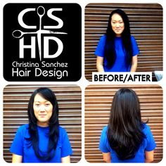 Hair by Christina Sanchez Hair Design  http://www.christinasanchezhairdesign.com/ #davines #CSHD