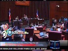 Senado Aprueba Proyecto De Reforma Fiscal #NoticiaTelemicro #Video