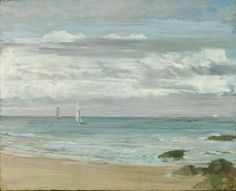 ᐅ Die 99 Besten Bilder von Alte Kunst Blue and Silver: Trouville. James Abbott Mcneill Whistler, Freer Gallery, Art Gallery, Landscape Art, Landscape Paintings, Landscapes, Most Famous Paintings, Oil Painting Reproductions, Art For Art Sake