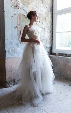 Wedding dress by MICHEL MAYER, spring/summer 2014