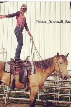 Amy trick riding!!!!