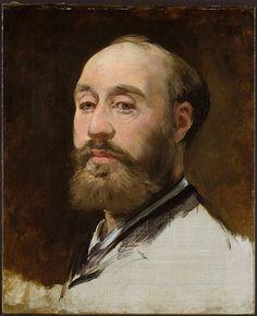 Edouard Manet -portrait of Faure, 1882
