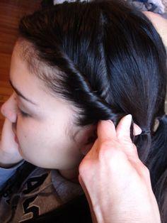 Easy Civil War Hairstyle Tutorial   Promise Christian Academy