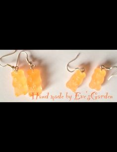 Haribo resin earrings large and small