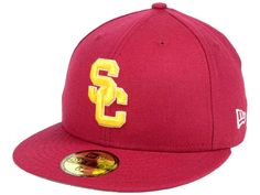 premium selection 34487 ceb26 59Fifty Men s Hat Trojans USC College Cardinal Red 2016 Classic Fitted Cap  - CT12O4Z679U