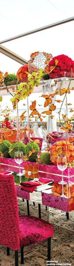 Butterfly summer wedding