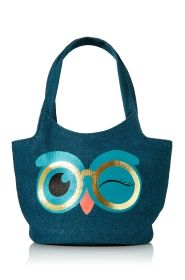 Teal Owl Mini Owl Tote - Bath & Body Works
