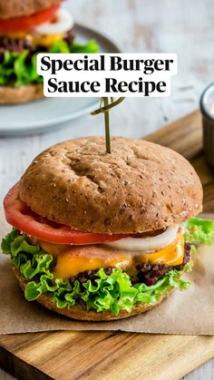 Burger Sauces Recipe, Sauce Recipes, Summer Grilling Recipes, Grilling Tips, Beef Burgers, Salmon Burgers, Burger Bar, Homemade Sauce, Dinner Recipes
