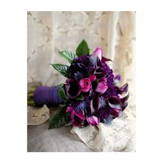 Wish Special Events » Blog Archive » WishCandy: Purple Bouquets found on Polyvore