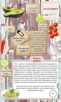 What You Eat, Antipasto, Guacamole, Avocado, Salads, Cooking, Healthy, Food Ideas, Bar