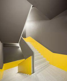 cib: biomedical research centre - iruña - vaillo + irigaray + galar - 2013 - int stair