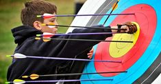 No one becomes a pro at archery overnight. Mastering the bow & arrow takes time & lots of practice. And this is where the best archery Target comes in. Archery Tips, Archery Arrows, Archery Hunting, Archery Targets, Saltwater Fishing, Kayak Fishing, Best Archery Target, Bow Target, Reloading Bench