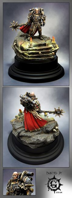40k - Lorgar, Primarch of the Word Bearers Legion by Painted By-g