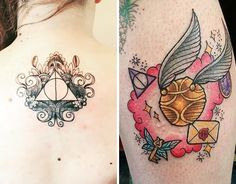 27 Magically Meaningful Tattoos Inspired By The World Of Harry Potter