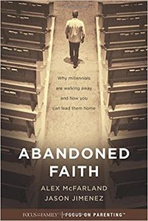 Abandoned Faith: Why Millennials Are Walking Away and How You Can Lead Them Home #sponsored #bookreviews #Christian #TyndaleHouse @tyndale