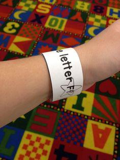 Alphabet Bracelets!