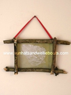 frame from sticks!