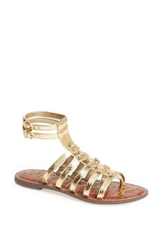 107d0ea2a5022 Sam Edelman  Gilda  Gladiator Sandal- so glitzy and you can wear these with