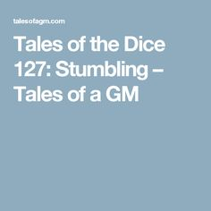 Tales of the Dice 12