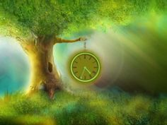 Clocks don't grow on common trees. But what about the magic trees? We have cultivated the special magical tree with the real clock on its branch. It can show the current time and cheer your moods the year round. Carpe Diem, Leo Tolstoi, Locuciones Latinas, Ecclesiastes 3, Magical Tree, My Champion, Grief Support, As Time Goes By, Frases