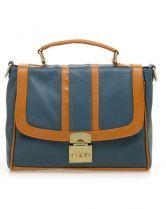 Blue Vintage Shoulders Bag and Backpack(3way) $68.00