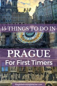 Are you heading to Prague for the first time? Get ready to be swept off your feet. Here are 15 things to do in Prague for First-Timers.