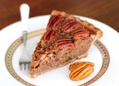 Healthy Vegan Maple Pecan Pie