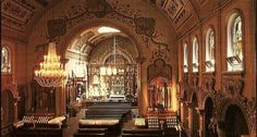 St. Anthony's Chapel is located on Troy Hill, Pittsburgh. -- Saint Anthony of Padua, houses the largest public collection of relics in the World (over 5000 relics)