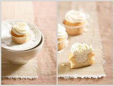 All just a dream: Creamy fig cupcakes in the heaven by csokiparany, via Flickr