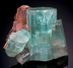 Beryl var. Aquamarine from Namibia by Exceptional Minerals